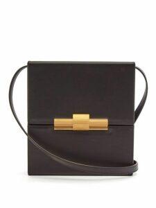 Bottega Veneta - Daisey Leather Cross Body Bag - Womens - Black