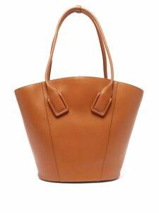 Bottega Veneta - Basket Large Leather Tote Bag - Womens - Tan