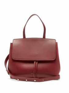 Mansur Gavriel - Mini Lady Leather Cross Body Bag - Womens - Burgundy