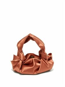 The Row - The Ascot Satin Clutch - Womens - Coral