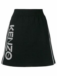 Kenzo A-line sports skirt - Black