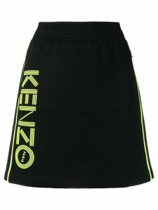 Kenzo A-line sports skirt - Black