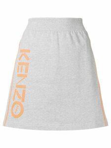 Kenzo A-line sports skirt - Grey