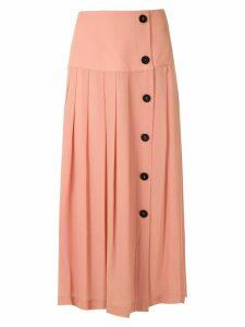 Nk silk midi skirt - Pink
