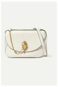 JW Anderson - Keyts Large Leather Shoulder Bag - Off-white