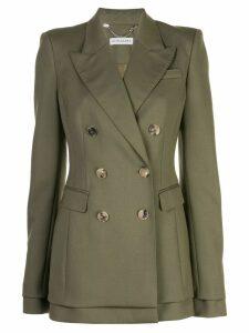 Altuzarra Ria double breast jacket - Green