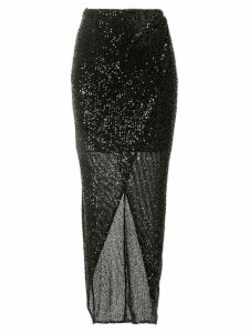 Rachel Gilbert Nancy sequin skirt - Black