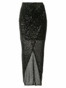 Rachel Gilbert Nancy sequin skirt - Black