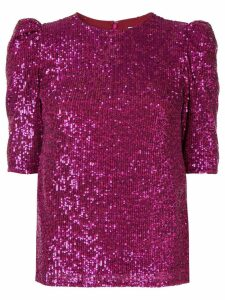 Rachel Gilbert Nancy embellished top - Purple