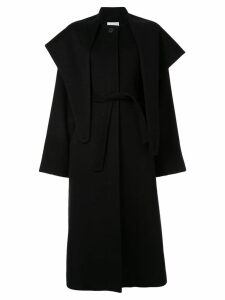 Le 17 Septembre layered cape coat - Black