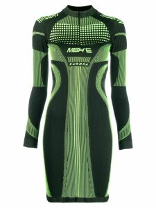 Misbhv Active Future knitted dress - Green