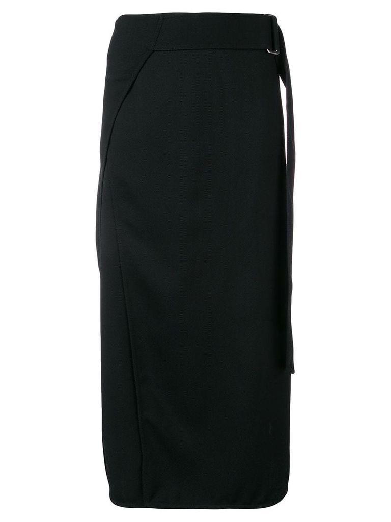 Victoria Beckham belted midi skirt - Black