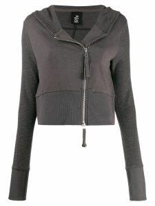 Thom Krom zip-up hoodie - Grey