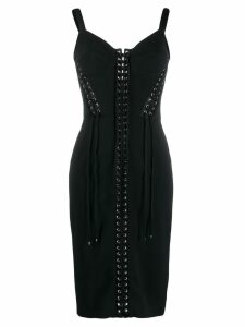 Dolce & Gabbana stretch cady bustier dress - Black