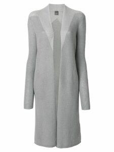 Lorena Antoniazzi longline cardigan - Grey
