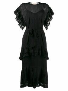 Zimmermann lace trim dress - Black
