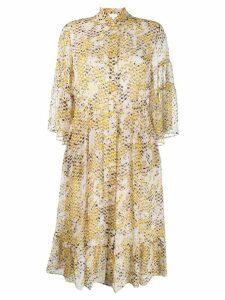 Lala Berlin snakeskin print shirt dress - Neutrals