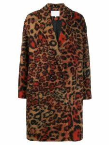 Lala Berlin leopard pattern coat - Multicolour