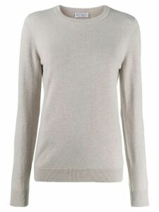 Brunello Cucinelli crew neck sweater - Neutrals