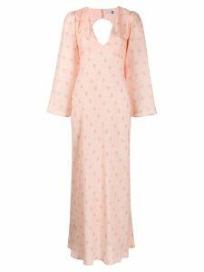 Rixo Nadia maxi dress - PINK