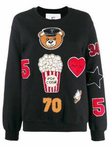 5 Progress appliqué patch sweatshirt - Black