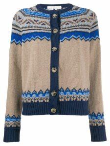 Golden Goose chunky knit cardigan - Neutrals