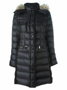 Moncler 'Hermifur' padded coat - Black