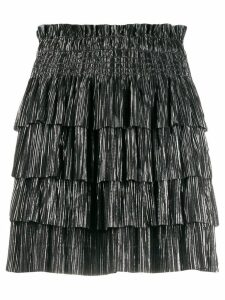Iro tiered style skirt - Black