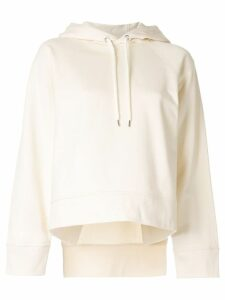 Cédric Charlier basic hoodie - White