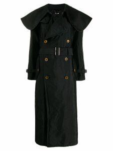 Comme Des Garçons Comme Des Garçons oversized collar trench coat -