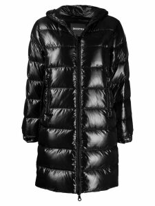 Duvetica hooded padded coat - Black
