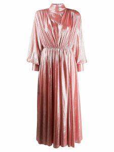 MSGM blouson sleeve dress - Pink