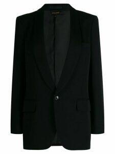Comme Des Garçons classic fitted blazer - Black