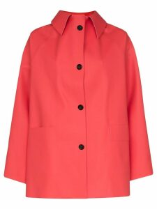 Kassl rubber shirt jacket - Red