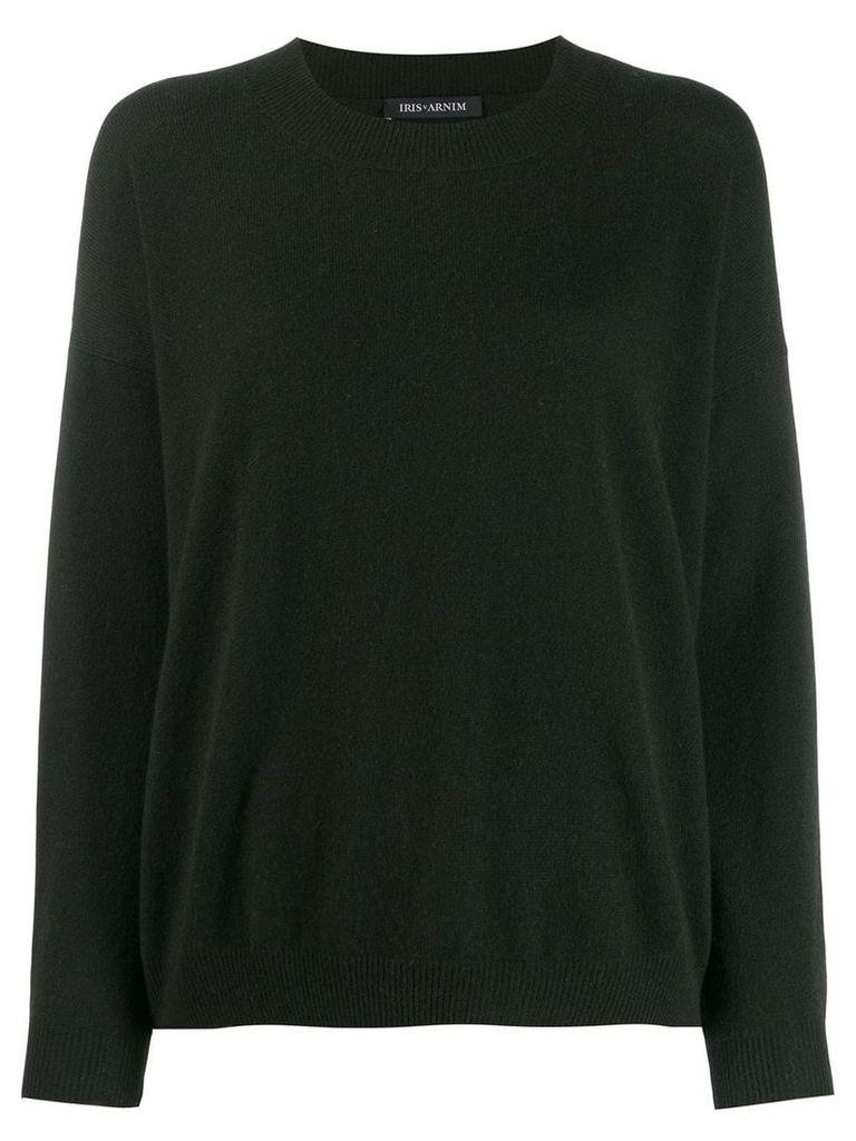 Iris Von Arnim classic relaxed-fit sweater - Green