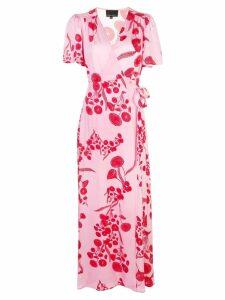 Cynthia Rowley Krissy Wrap Dress - Pink