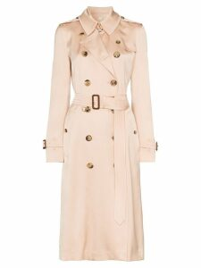 Burberry Boscastle double-breasted trench coat - Pink