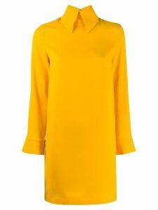 Erika Cavallini collared dress - Yellow