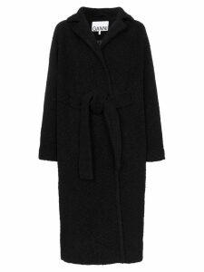 GANNI oversized coat - Black