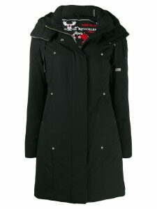 Moose Knuckles long padded parka - Black