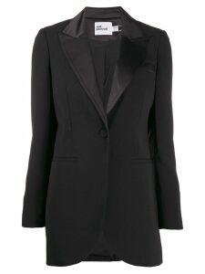 Self-Portrait tuxedo blazer - Black