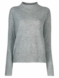 Twin-Set slim fit jumper - Grey