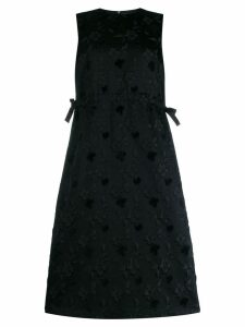 Comme Des Garçons Noir Kei Ninomiya floral shift dress - Black