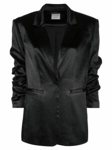 Cinq A Sept Kylie satin blazer - Black