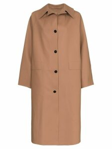 Kassl Editions oversized coat - NEUTRALS
