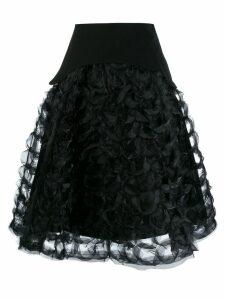 Comme Des Garçons Noir Kei Ninomiya ruffled sculptural A-line skirt -