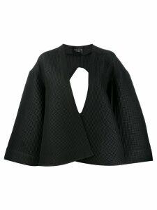 A.W.A.K.E. Mode deconstructed reverse shirt - Black