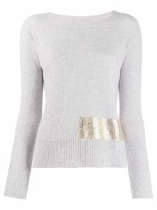 Pinko Giappone knitted top - Grey
