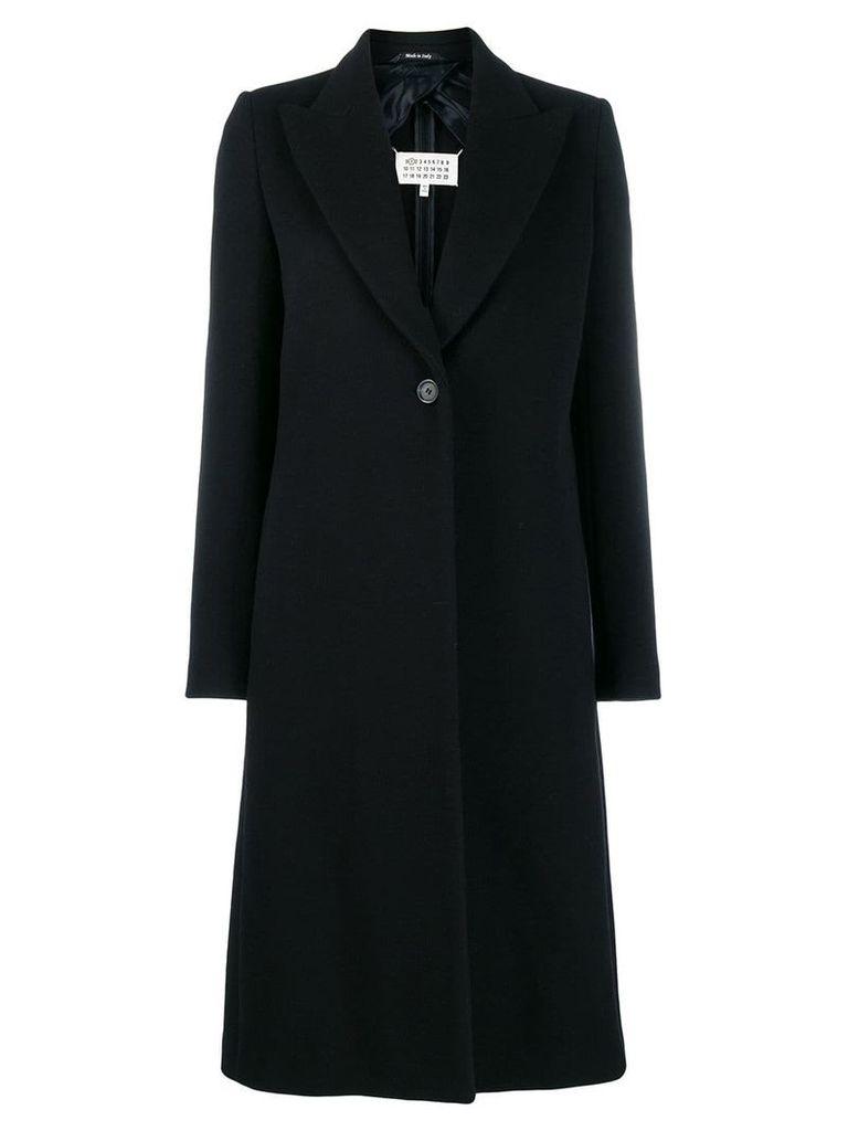 Maison Margiela single-breasted coat - Blue