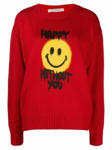 Philosophy Di Lorenzo Serafini Happy Without You sweater - Red